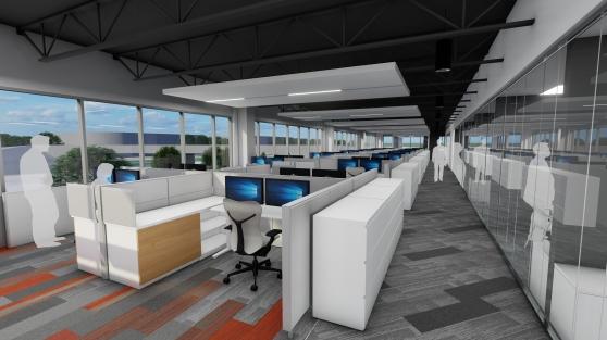 2018.00209 - 9025 River Road - Open Office Rendering